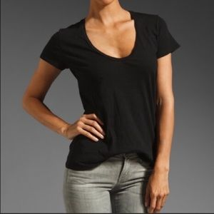 James Perse scoop neck tee shirt size 2/M